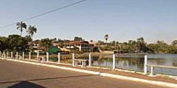 Cristianópolis-GO-Lago da cidade-Foto:Arolldo Costa Oliveira