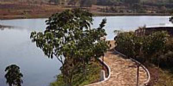 Cristianópolis-GO-Pista de Cooper à beira do lago-Foto:Arolldo Costa Oliveira