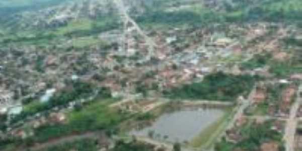 Vista aérea - Crixás-Foto:Murilo Carmo Oliveira