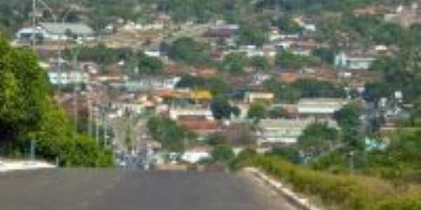 Vista da cidade de Crixás-Foto:Murilo Carmo Oliveira