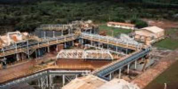 Mineraçao Serra Grande-Foto:Márcia Bento Cordeiro