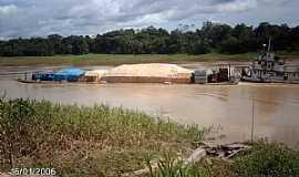 Carauari - Carauarí-AM-Transporte fluvial-Foto:ibueno