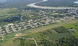 Carauari - Carauarí-AM-Vista aérea-Foto:ibueno