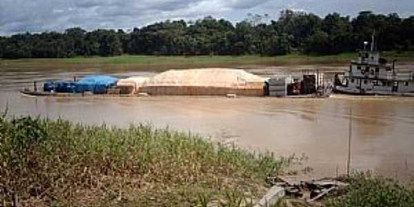 Carauarí-AM-Transporte fluvial-Foto:ibueno