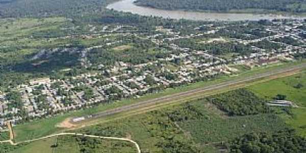 Carauarí-AM-Vista aérea-Foto:ibueno
