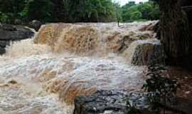 Diorama - Diorama-GO-Cachoeira do Quebradão no Rio dos Bois-Foto:cleidnei barbosa machado