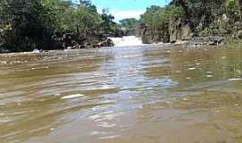 Diorama - Diorama-GO-Cachoeira Ponte de Pedra no Rio dos Bois-Foto:Arneide Machado