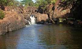 Diorama - Diorama-GO-Cachoeira Ponte de Pedra no Rio dos Bois-Foto:odair carlos