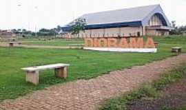 Diorama - Diorama-GO-Ginásio de Esportes-Foto:cleidnei barbosa machado