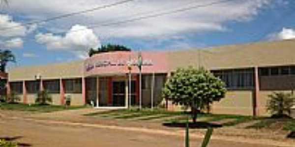 Diorama-GO-Prefeitura Municipal-Foto:cleidnei barbosa machado