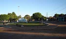 Divin�polis de Goi�s - Divin�polis de Goi�s-GO-Centro do Povoado Vazante-Foto:Dimas Justo