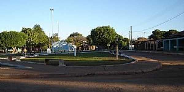 Divinópolis de Goiás-GO-Centro do Povoado Vazante-Foto:Dimas Justo