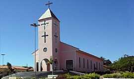 Doverlândia - Igreja Matriz do Senhor Bom Jesus em Doverlândia-GO - Por pauloprl