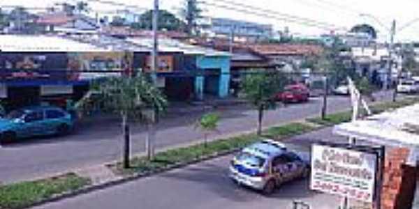 Avenida Dom Pedro II, Edéia, GO - Foto Paulo José de Souza
