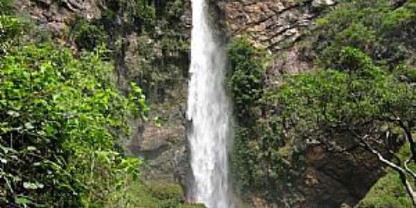 Formosa-GO-Cachoeira do Itiquira-Foto:Marcelino_Sousa