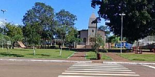 Goialândia-GO-Praça da Matriz-Foto:anapolis.go.