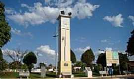 Goiandira - Praça central da cidade de Goiandira.