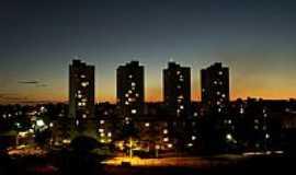 Goi�nia - Goi�nia-GO-Vista noturna-Foto:Joventino Neto