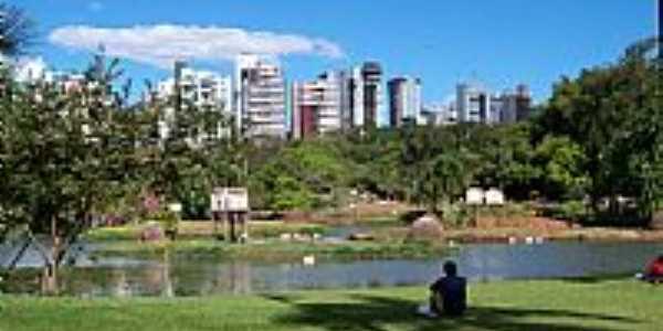 Goiânia-GO-Lago no Zoológico-Foto:Joventino Neto