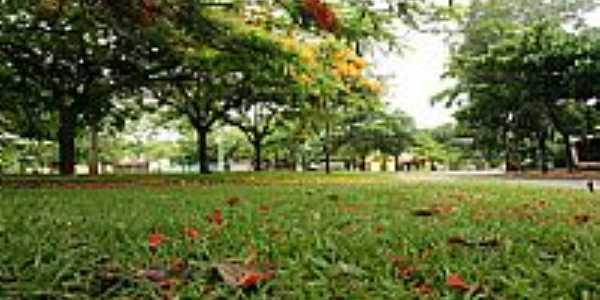 Goiânia-GO-Praça central-Foto:Joventino Neto