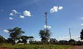 Goianira - Torre de Telefonia Cecular no Parque Los Angeles em Goianira-GO-Foto:ErickNilson10