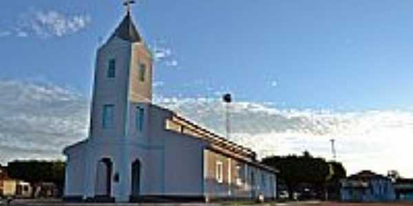 Igreja Matriz de Guapó - GO por Arolldo Costa Oliveira