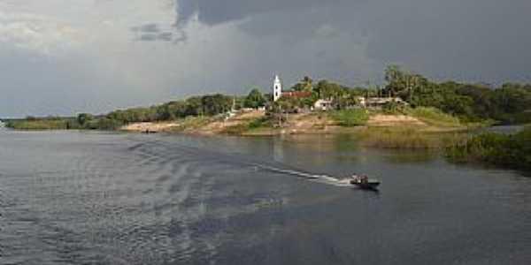 Carvoeiro-AM-Santuário de Santo Alberto de Trapani e Rio Negro-Foto:Guilherme Quadros