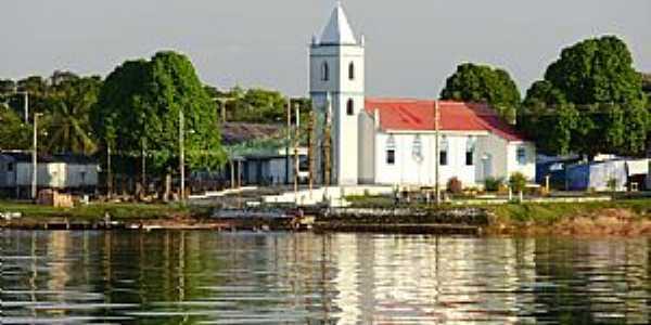 Carvoeiro-AM-Santuário de Santo Alberto de Trapani e Rio Negro-Foto:Wilmar Santin