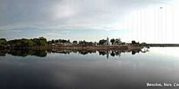 Carvoeiro-AM-Vista panorâmica-Foto:barcelosamazonia.blogspot.com