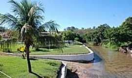 Guarani de Goiás - Praça na beira do rio em Guarani de Goiás-GO-Foto:jackson a de moura
