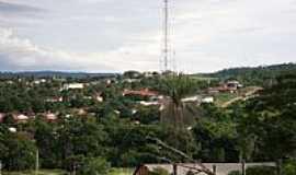 Guarani de Goiás - Vista parcial da cidade de Guarani de Goiás-GO-Foto:Gilson Valente