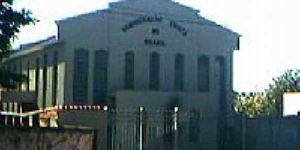 Igreja da Congregação Cristã do Brasil em Hidrolândia-Foto:Congregação Cristã.NET