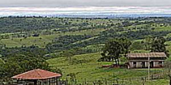 Vista da região de Hidrolândia-Foto:jbsv