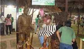 Xapuri - Estátua em Madeira de Chico Mendes - ExpoAcre