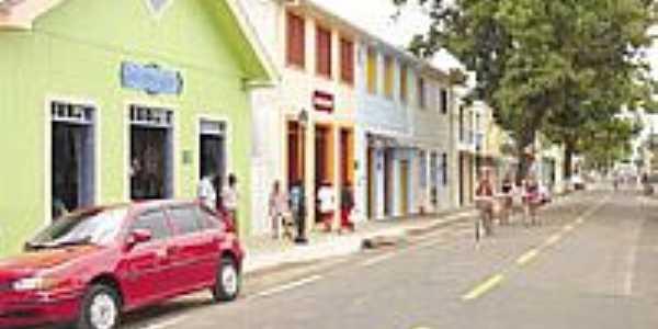 Rua de Xapuri, Terra de Chico Mendes-Foto:JEZAFLU=ACRE=BRASIL