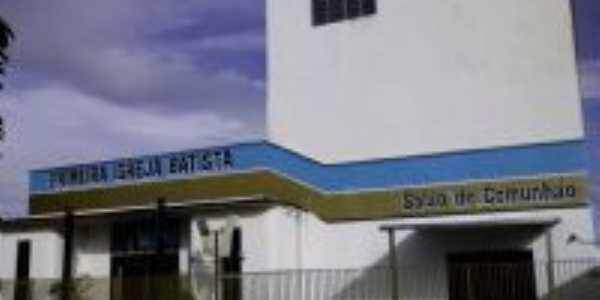 Templo e Prédio de Educação Cristã da PIB de Itapuranga, Por Hélio da Silva Fonseca