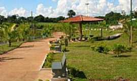 Itarumã - Praça e o lago em Itarumã-GO-Foto:Wagner Magalhães de Araujo