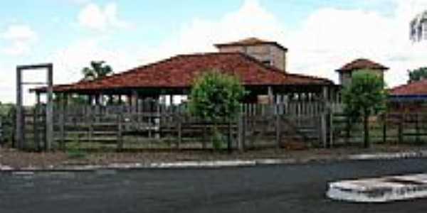 Lanchonete em estilo rústico em Itarumã-GO-Foto:Wagner Magalhães de Araujo