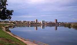 Itumbiara - Itumbiara-GO-Rio Paranaíba e a cidade-Foto:Altemiro Olinto Cristo
