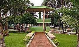 Jataí - Coreto na Praça central de Jataí-Foto:Amarildo Gonçalves