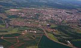 Jataí - Jataí-GO-Vista aérea da cidade-Foto:Ag.Caetano