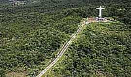 Jata� - Morro do Cristo em Jata�-Foto:Amarildo Gon�alves