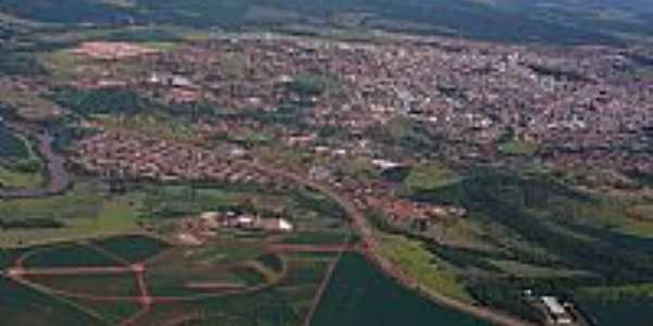 Jataí-GO-Vista aérea da cidade-Foto:Ag.Caetano