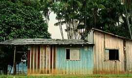 Cucuí - Cucuí-AM-Casas ribeirinhas-Foto:maloup