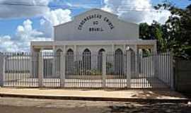 Joviânia - Joviânia-GO-Igreja da CCB no Povoado Vilinha-Foto:Eduardo Farias