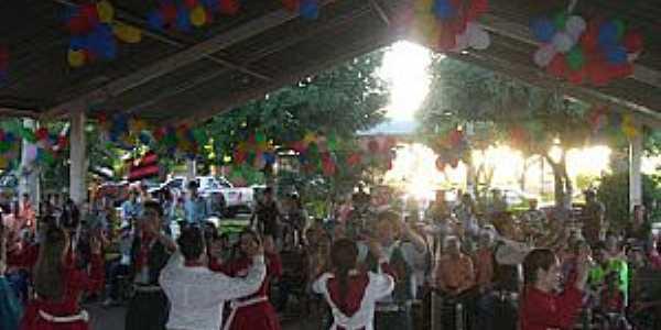 Lagoa do Bauzinho-GO-Dança Gaúcha no Projeto Cultura Valorizada-Foto: Arthur Vilela