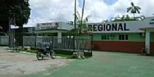 Eirunepé-AM-Hospital Regional Vinícios Conrado-Foto:eirunet.blogspot.com.br