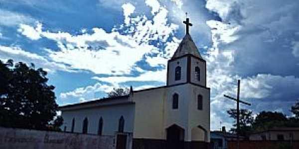 Leopoldo de Bulhões-GO-Igreja Matriz-Foto:wender marques