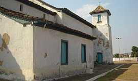 Luzi�nia - Luzi�nia-GO-Lateral da Igreja do Ros�rio-Foto:Paulo Cesar da Silva
