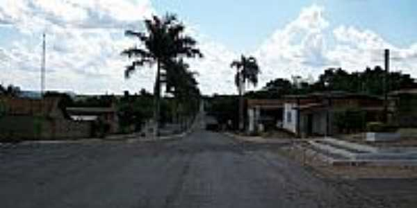Avenida Principal de Mairipotaba-Foto:Arolldo Costa Olivei�